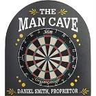 Personalized Man Cave Dartboard
