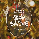 In Our Hearts Personalized Pet Memorial Ornaments