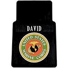Personalized Military Insignia Car Mats