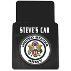 Personalized US Army Car Mats