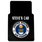 Personalized U.S. Air Force Car Mats