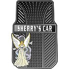 Angel Personalized Car Mats