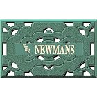 Personalized Die Cut Entrance Door Mats