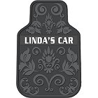 Personalized Filigree Car Mats