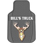 Personalized Deer Truck Mats