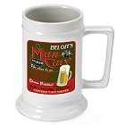 Personalized 16 oz. Man Cave German Beer Steins
