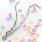 Personalized Stainless Steel Charm Necklace