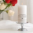 Personalized Wedding Memorial Candle Set