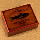 Personalized Trout Humidors