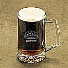Personalized Poker Icon Beer Mugs