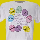 Eggstra Special Personalized Easter Egg T-Shirt