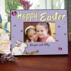 Hoppy Easter Personalized Picture Frame