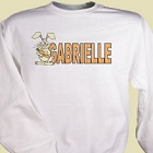 Carrot Name Personalized Sweatshirts