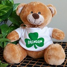 Irish Shamrock Personalized Teddy Bear