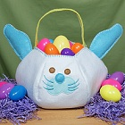 Personalized Bunny Easter Egg Baskets