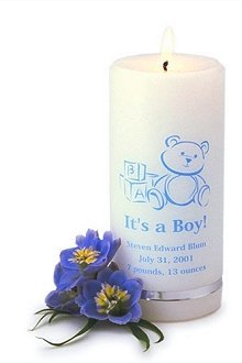It's a Boy Personalized Candles