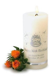 Personalized Birthday Candles