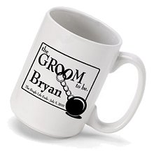 Personalized Groom to Be Coffee Mugs