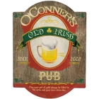 Irish Pub Personalized Wood Signs