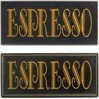 Espresso Coffee Sign