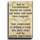 Keep This Place Clean Kitchen Wall Plagues