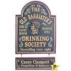 Personalized Old Barristers Drinking Society Sign