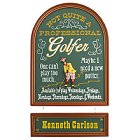 Not a Professional Golfer Personalized Wood Sign