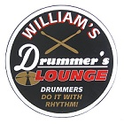 Drummers Lounge Personalized Wood Sign