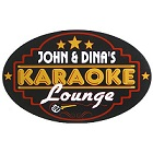 Karaoke Lounge Oval Wood Sign