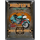 Personalized Biker Bar Wood Pub Sign