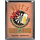 Personalized Dart Room Pub Wood Darts Sign