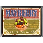Fruit Company Personalized Kitchen Signs