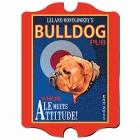 Vintage Personalized Ale Meets Attitude Pub Sign