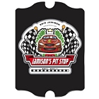 Vintage Personalized Racing Pit-Stop Pub Sign