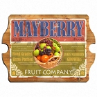 Fruit Company Personalized Vintage Kitchen Signs
