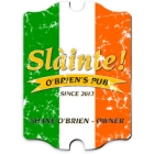 Vintage Personalized Pride of the Irish Pub and Bar Signs