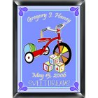 Personalized Wooden Blocks Room Sign - Boy