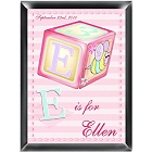 Girly Bee Personalized Nursery Room Sign