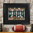 Personalized NFL Locker Room Prints with Matted Frame