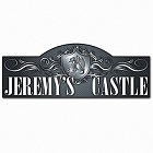Personalized Windsor Castle Kid's Room Sign