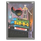 Personalized Marquee Bar-B-Q Sign
