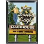 Personalized Marquee Double Eagle Wood Golf Sign