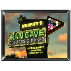 Personalized Marquee Man Cave Wood Sign