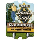 Vintage Personalized Marquee Double Eagle Wood Golf Sign