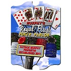 Vintage Personalized Marquee Poker Parlor Daytime Sign