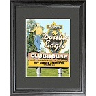 Personalized Marquee Double Eagle Framed Golf Print