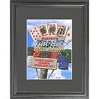 Personalized Marquee Poker Parlor Daytime Framed Print