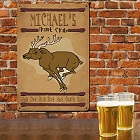 Hunt Club Personalized Metal Wall Sign
