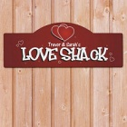 Love Shack Personalized Wall Signs
