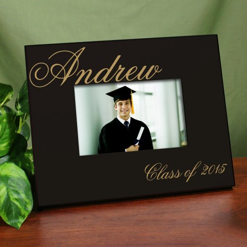 Personalized Class Of 2015 Printed Graduation Frames